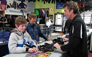 ski hire customer 2