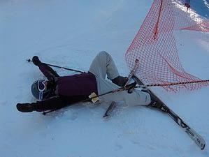 Skier down! Image by: Joe Shlabotnik